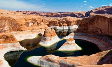 استخر های طبیعی,عجایب گردشگری,دریاچه پوول