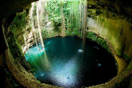 استخر های طبیعی,شگفت انگیزترین نقاط برای شنا کردن,سنوت